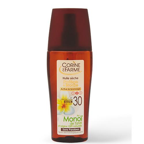 Droge olie Beschermt en Bruint - Activeert het Bruinen - SPF 30 - 150 ml