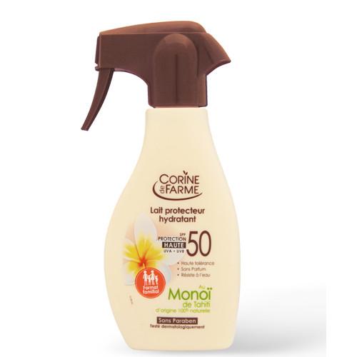 Hydraterende beschermende melk Hoge Bescherming - Zonnecrème SPF 50 - Gezinsformaat 300 ml