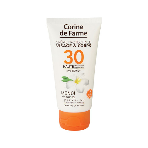 Crème protectrice visage&corps SPF30 50ml