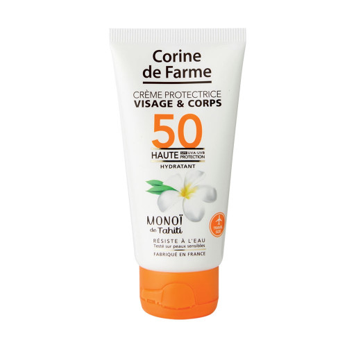 Crème protectrice visage&corps SPF50 50ml