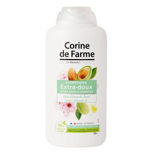 Shampooing Extra-Doux à l'Huile d'Amande Douce* 500ml